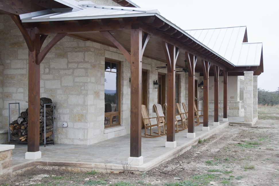 Timber Frame Home Hybrid In Hill Country Project