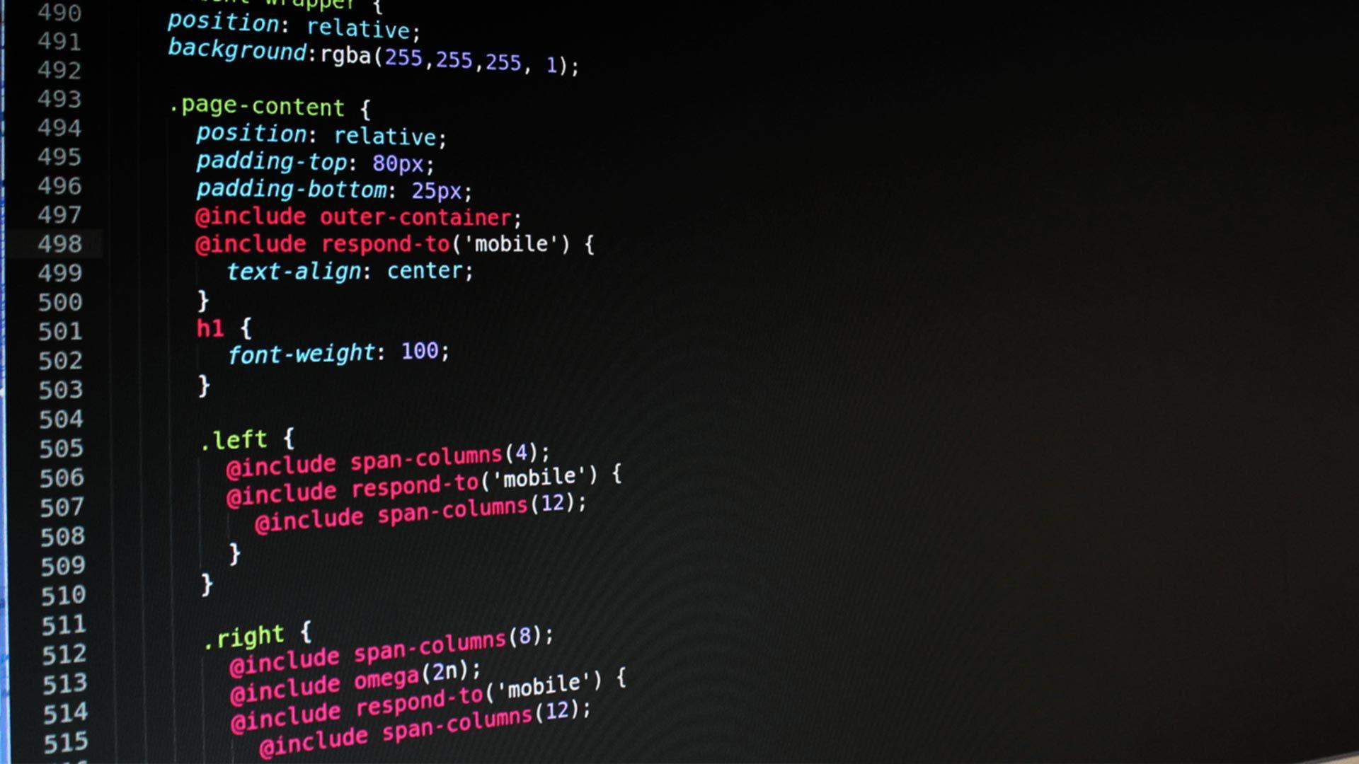 Web Developer Wallpaper Hd Responsivewebdesign Web