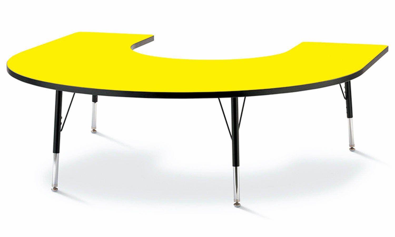 Solid Color Top Preschool Tables