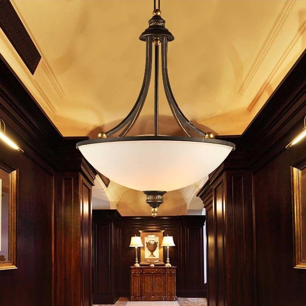 Kiven retro noble ceiling lamp occident vintage style resin pendant