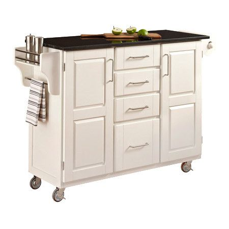 Hingham Kitchen Cart In White If Only I Had Room