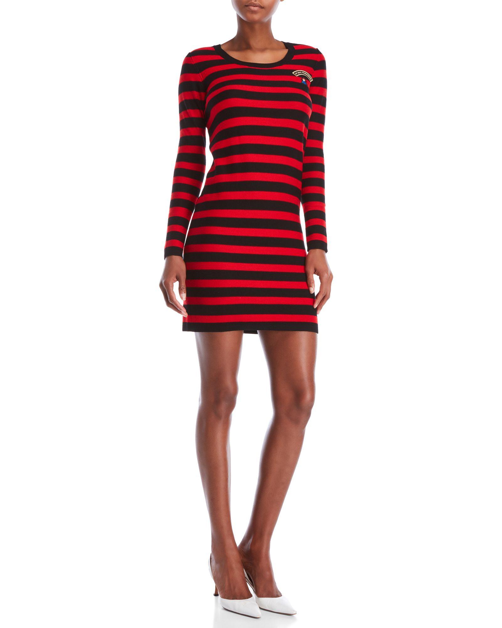 ba6d33f7e0 Sonia By Sonia Rykiel Striped Wool Sweater Dress | *Apparel ...