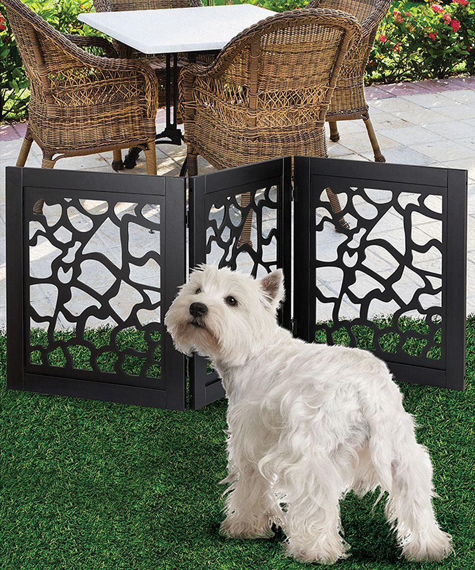 Tremendous Giraffe Wooden Pet Gate By Etna Products Zulily Gmtry Best Dining Table And Chair Ideas Images Gmtryco