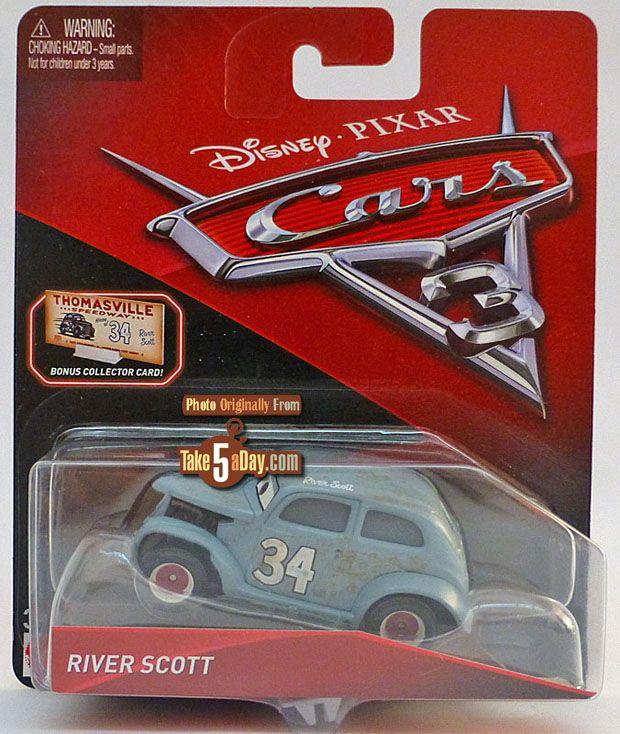 Mattel Disney Pixar CARS 3: River Scott is a Flood of Cool