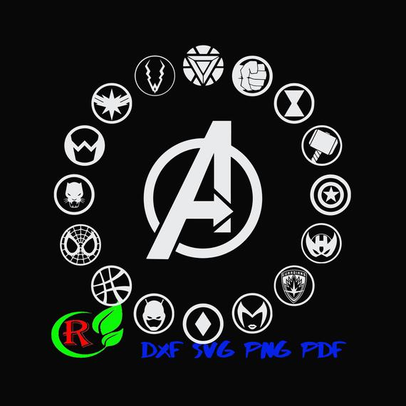 avengers endgame svg avengers svg avenger logo svg art dxf png dxf svg files for cricut and silh svg avengers logo svg files for cricut dxf png dxf svg files for cricut