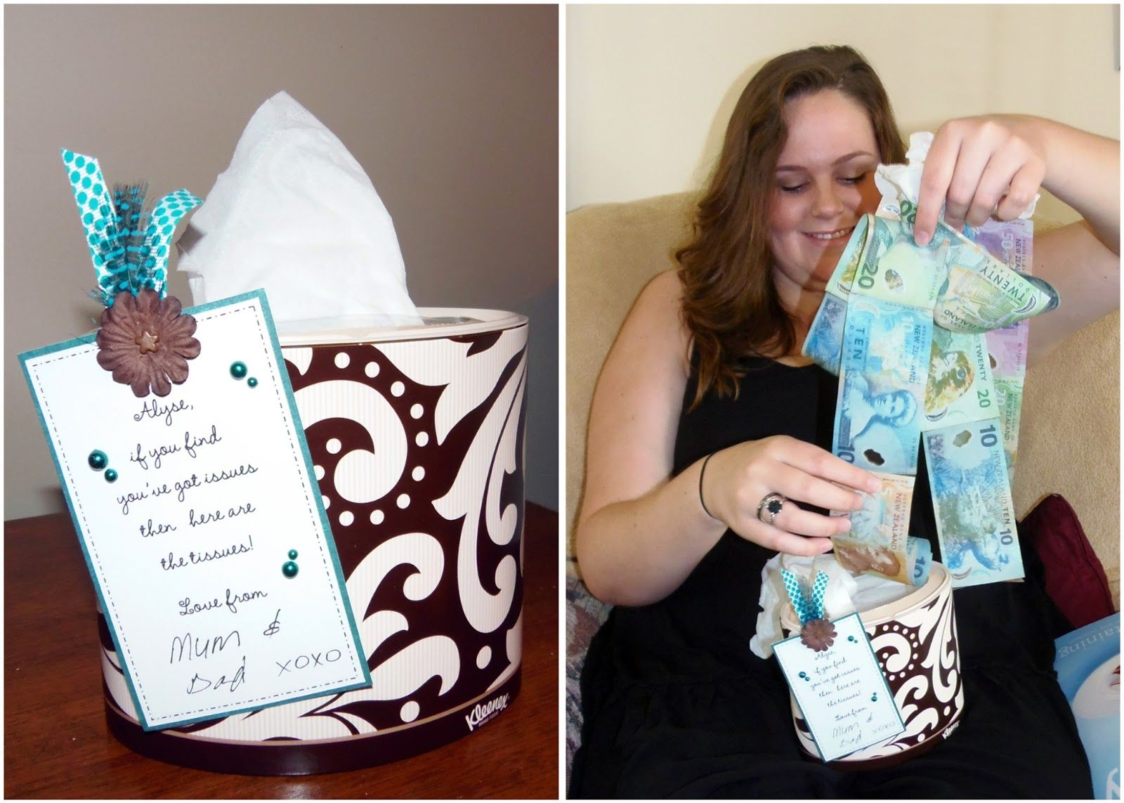 creative way to give cash as a gift Diy gifts, Small