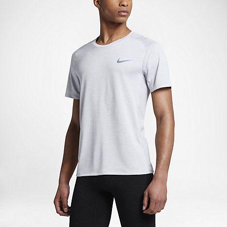 2e87a112d5055 Nike Breathe Miler Cool Men s Short Sleeve Running Top