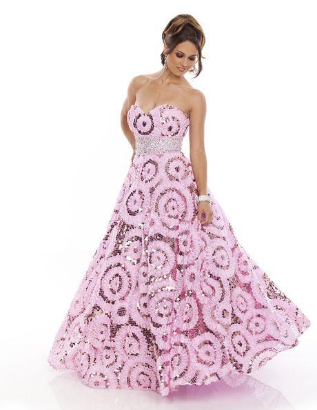 462458b307a  WowProm 4071 Strapless aline prom dress  prom  promdress  FormalApproach   promideas
