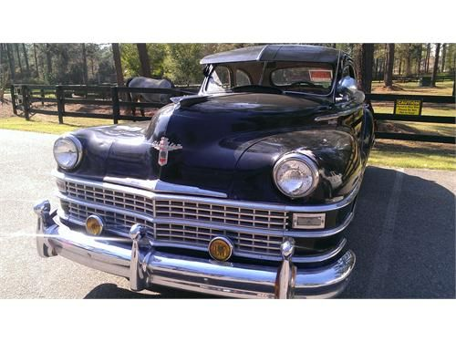 Weekend Dream Drive 1948 Chrysler Windsor Club Coupe Highlander