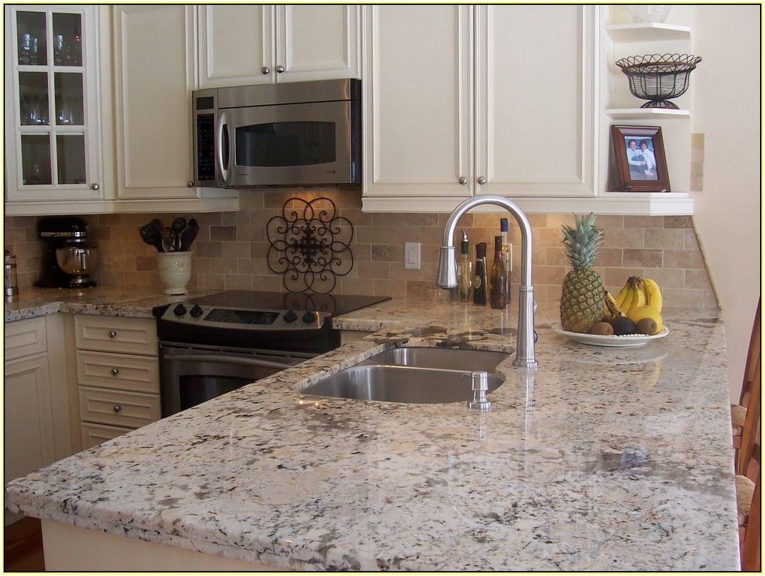 Image Of Crema Perla Granite Home Depot