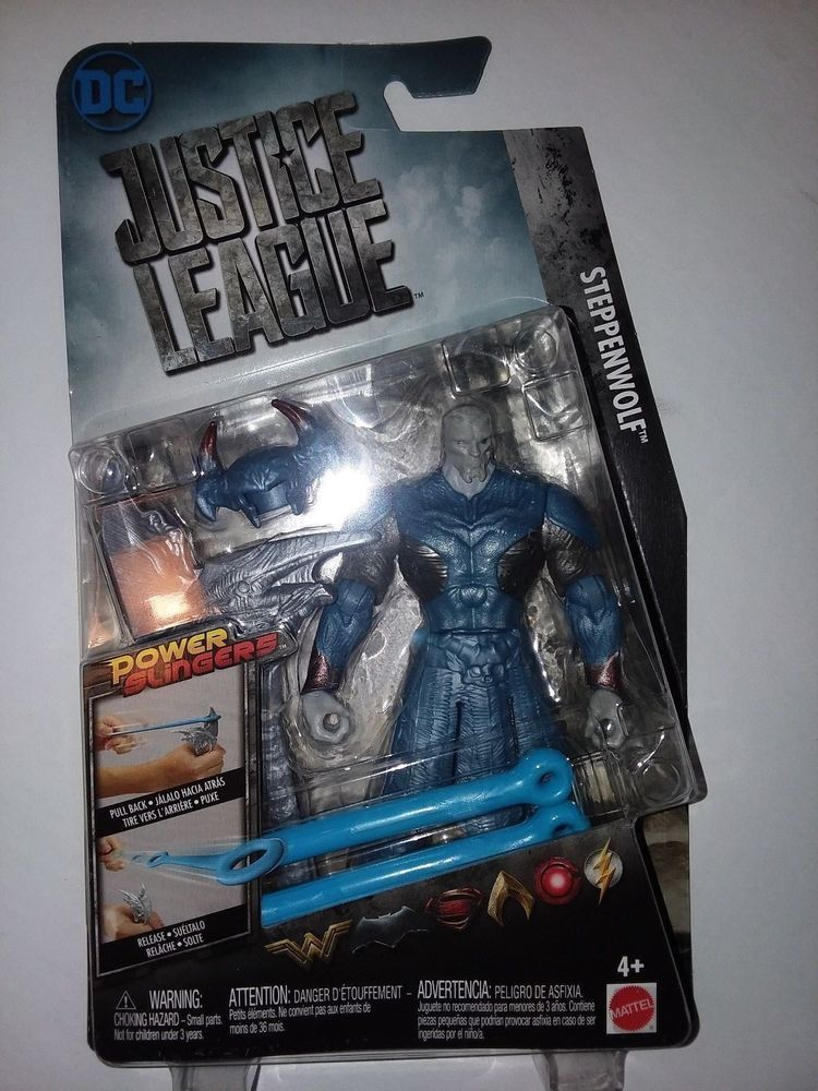 NEW in Package DC Justice League Power Slingers Steppenwolf Action Figure