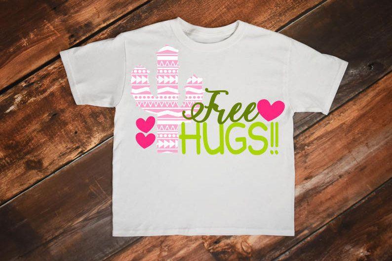 Download Free Hugs svg, Free hugs, Cactus svg, Hugs svg, Valentine ...