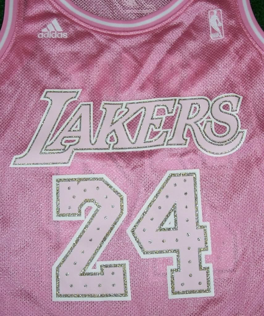 lakers pink jersey cheap buy online