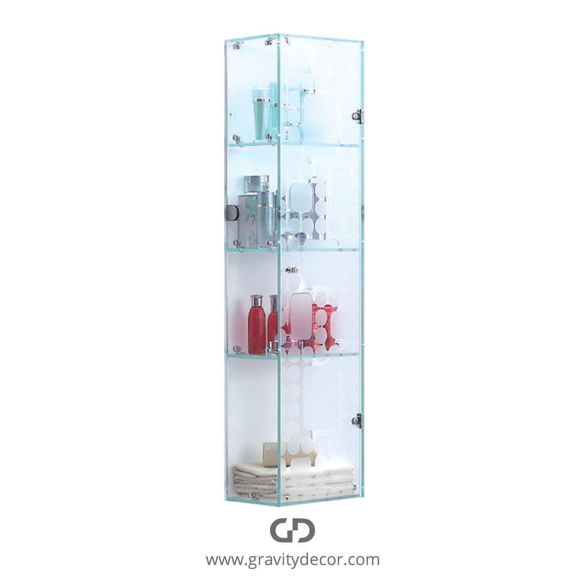 34+ Wall mounted glass bathroom cabinet type