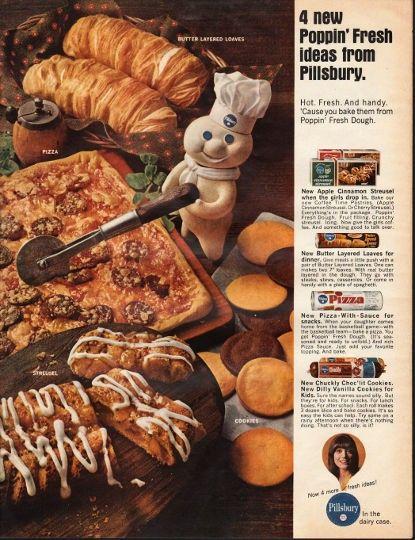 1966 Pillsbury Ad \