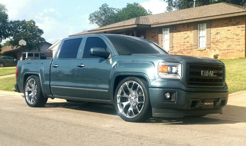 Pin By Kevin Bachhofer On Sweet Rides Dropped Trucks Gmc Trucks