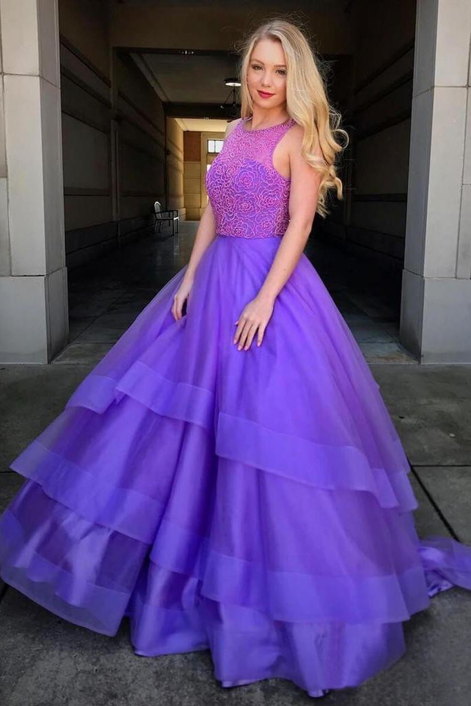 1c909abea7 Beaded Bodice Ball Gown Prom Dresses Simple Quinceanera Dress OKH64 ...