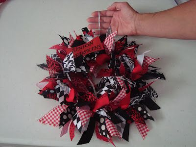 Photo of Happy Spirit Ribbon wreath