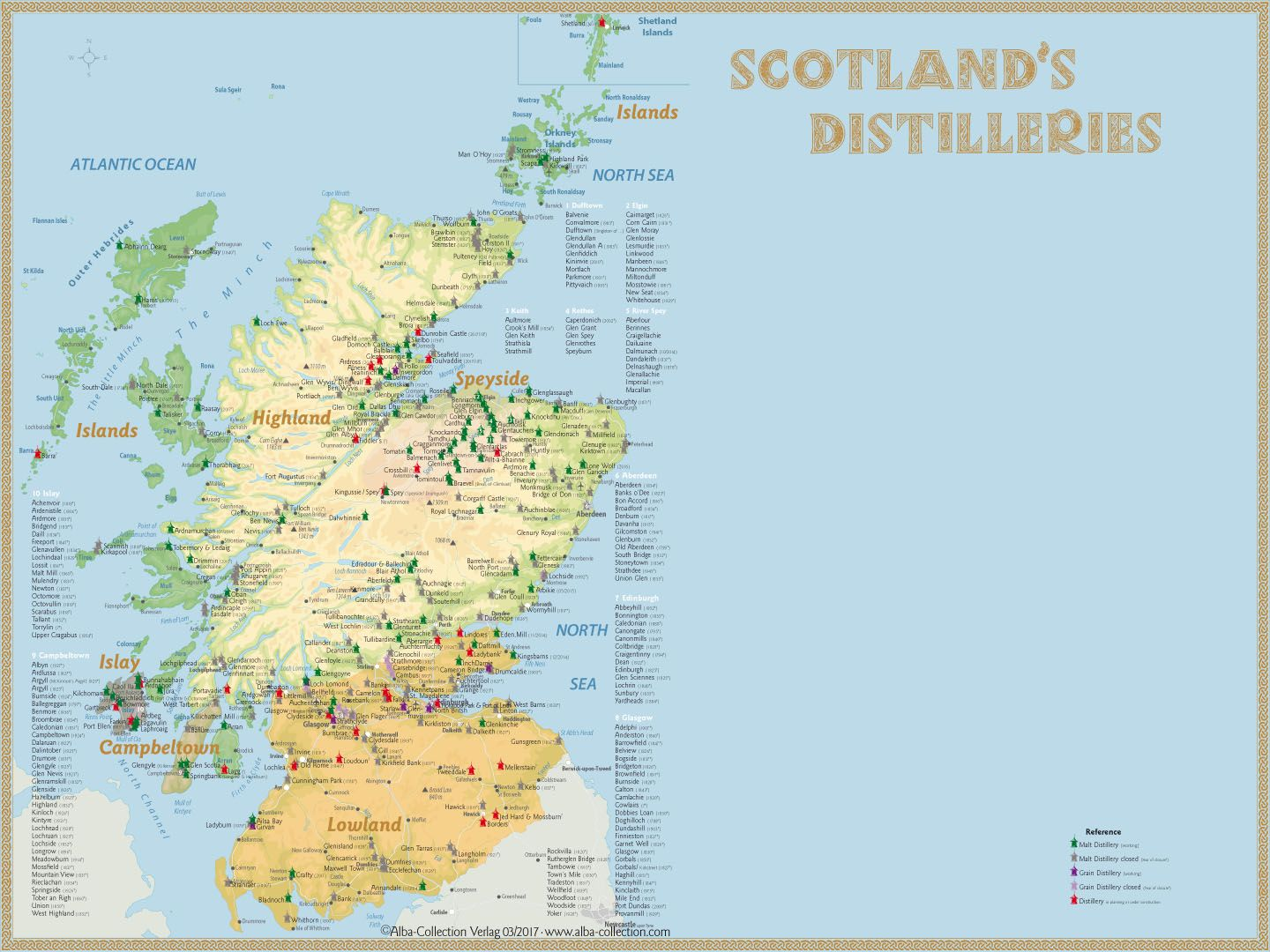 Whisky Regions Of Scotland Chart 01 Complet Overview Www Alba