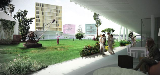 Itu University Campus 1st Prize Famagusta Cyprus Ind Inter National Design In Collaboration With Erginoglu Calislar Our Main Challenge For This Project