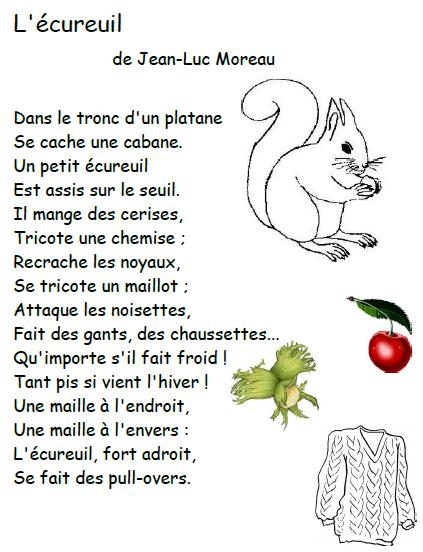 Poésie L écureuil Et La Feuille : poésie, écureuil, feuille, Épinglé, Abdos