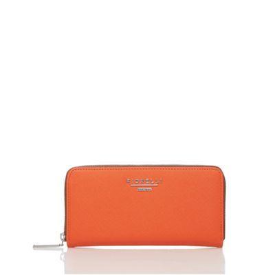 Fiorelli Orange large zip around purse- at Debenhams.com