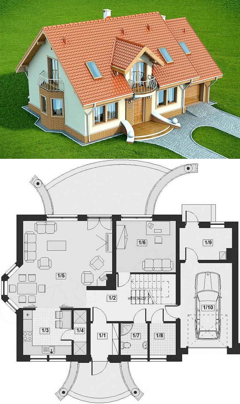 Four Bedroom Classic House Design Classic House Design Classic House Luxury House Designs