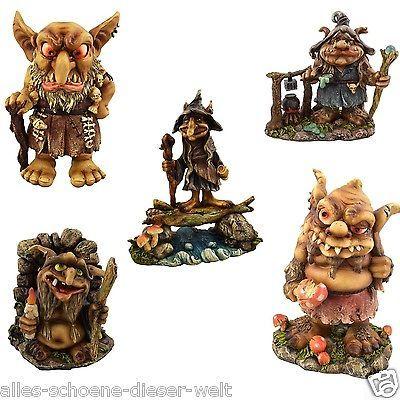 Einfach (t)drollig Gnome, Trolle, Zwerge oder Wichtel Figur-Vrschiedene Modelle
