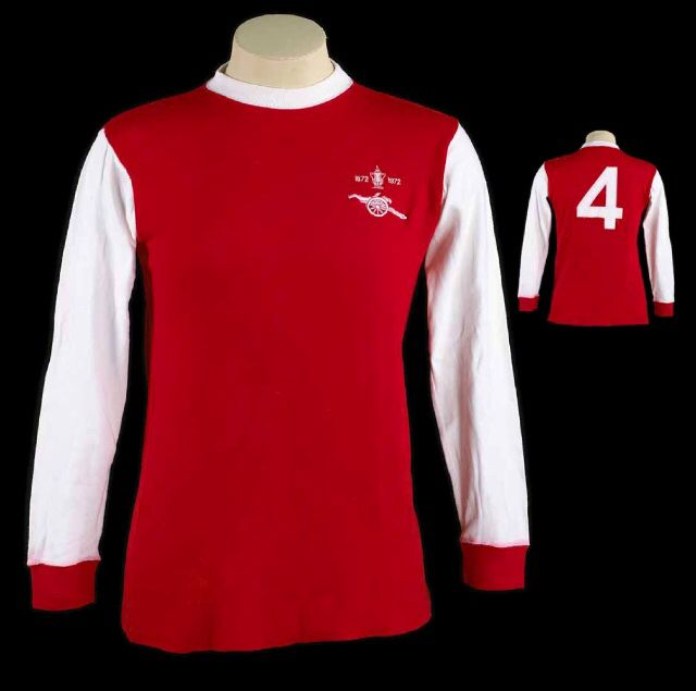 ae324ef02 Peter Storey s Arsenal 1972 FA Cup Final shirt