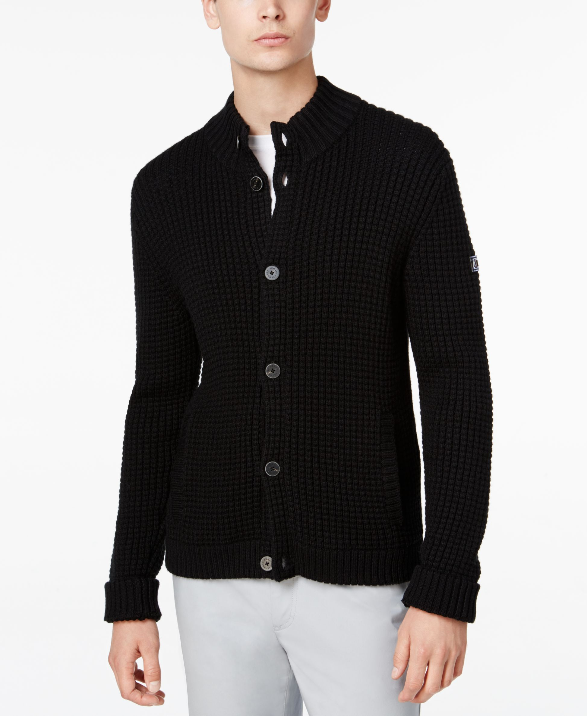 Armani Exchange Men's Button-Up Cardigan | Shops, Cardigans and ...
