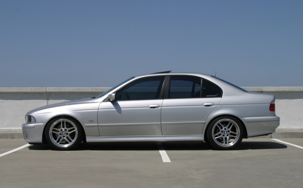 Silver S E39 Really Aggressive But Elegant Stance