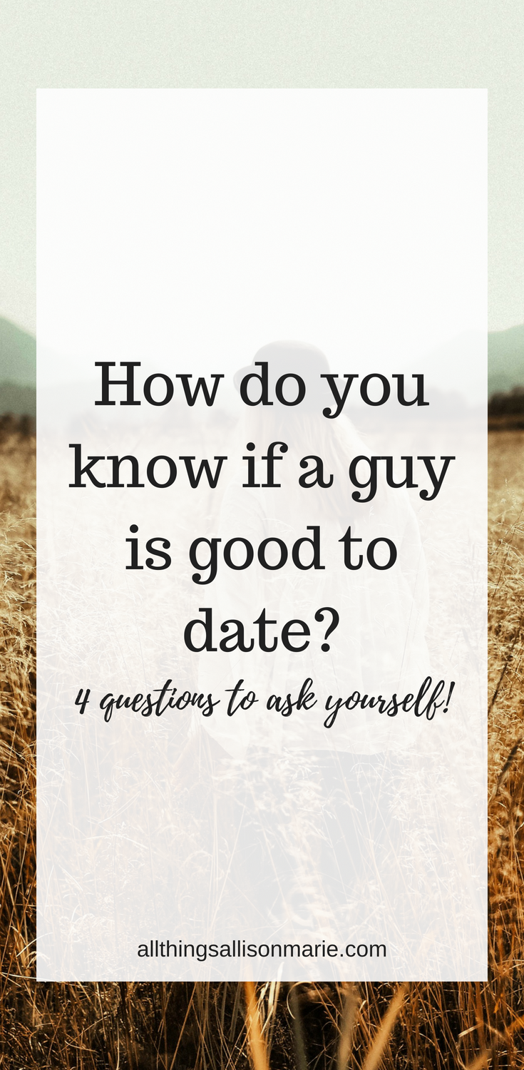 What questions to ask when dating a guy