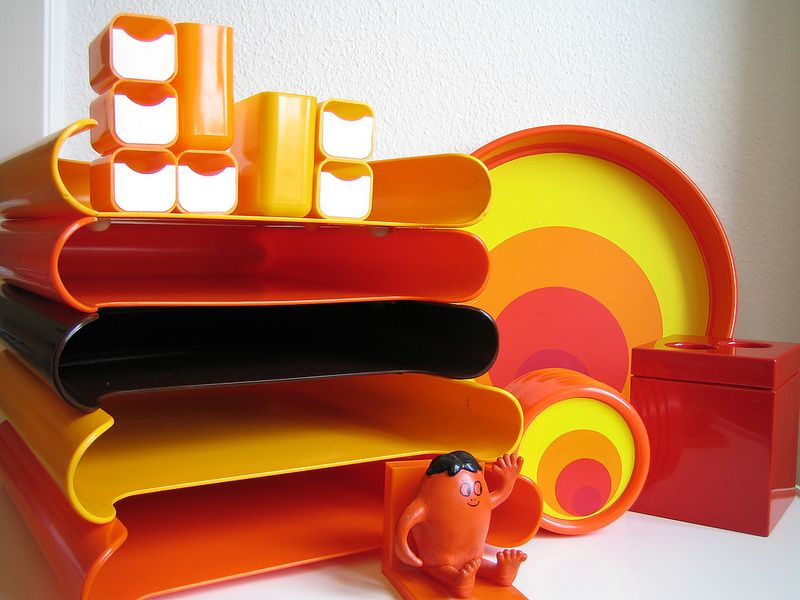 Paper tray organizer by m schweizer design hof pencil for Space age design