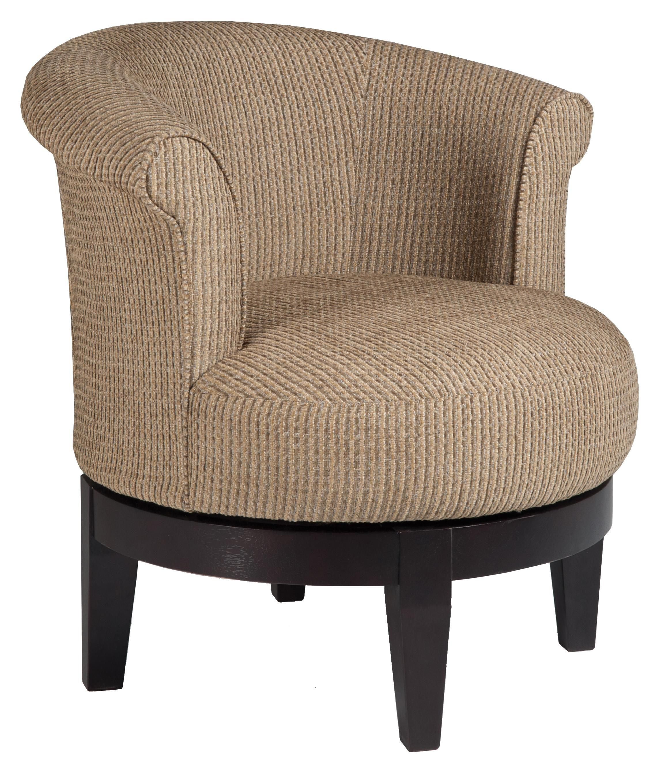 Chairs Swivel Barrel Chic Attica Swivel Chair With
