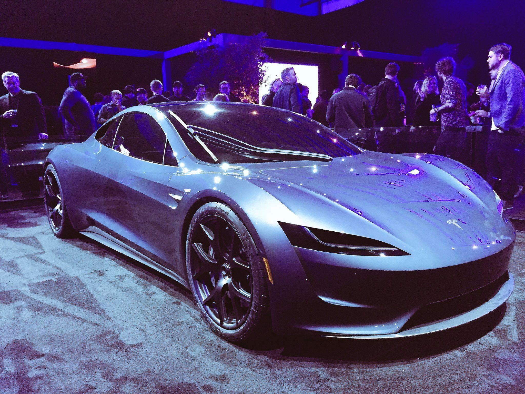 Tesla Sports Car >> Tesla Roadster 2 0 Tesla Roadster Tesla Electric Car