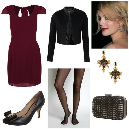 Amado traje esporte fino feminino vestido burgundy | Coisas para comprar  CD09