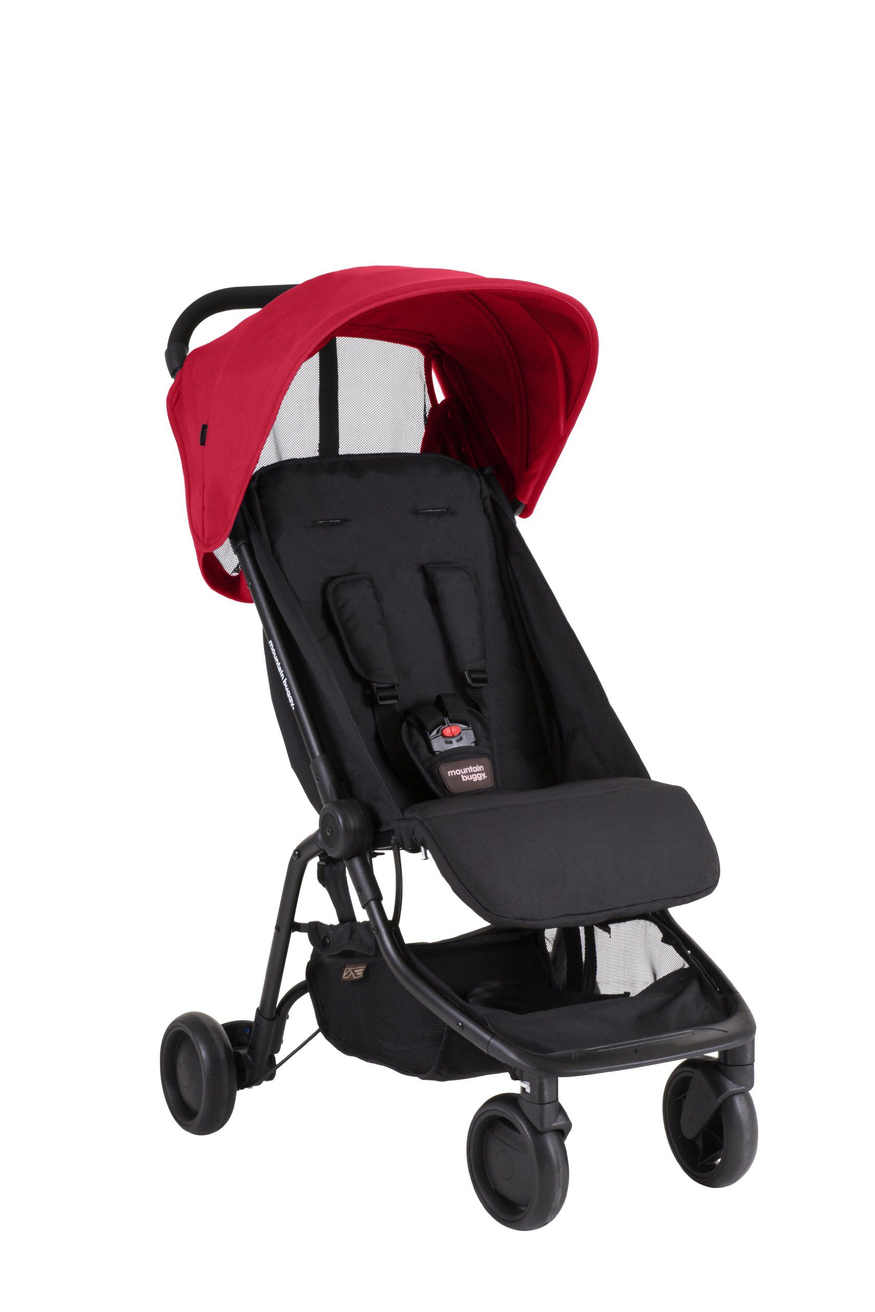 Mountain Buggy Nano Stroller, Ruby (With images