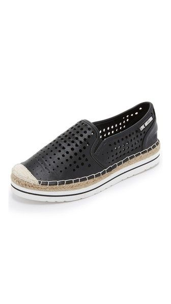 6eac20a75a002 Love Moschino Perforated Espadrilles in 2019 | andrea loves these ...