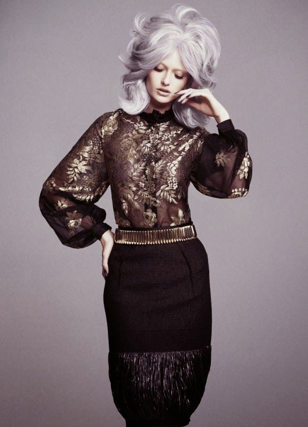 Cool Chic Style Fashion: Editorials | Annabella by Christian Blanchard for FASHIONTREND Magazine