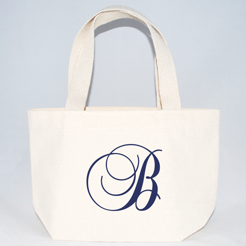 XSmall Initial Wedding Totes Welcome BagsGift