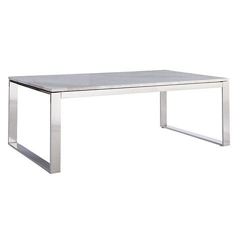Buy John Lewis Frost Marble Coffee Table From Our Tables Range At