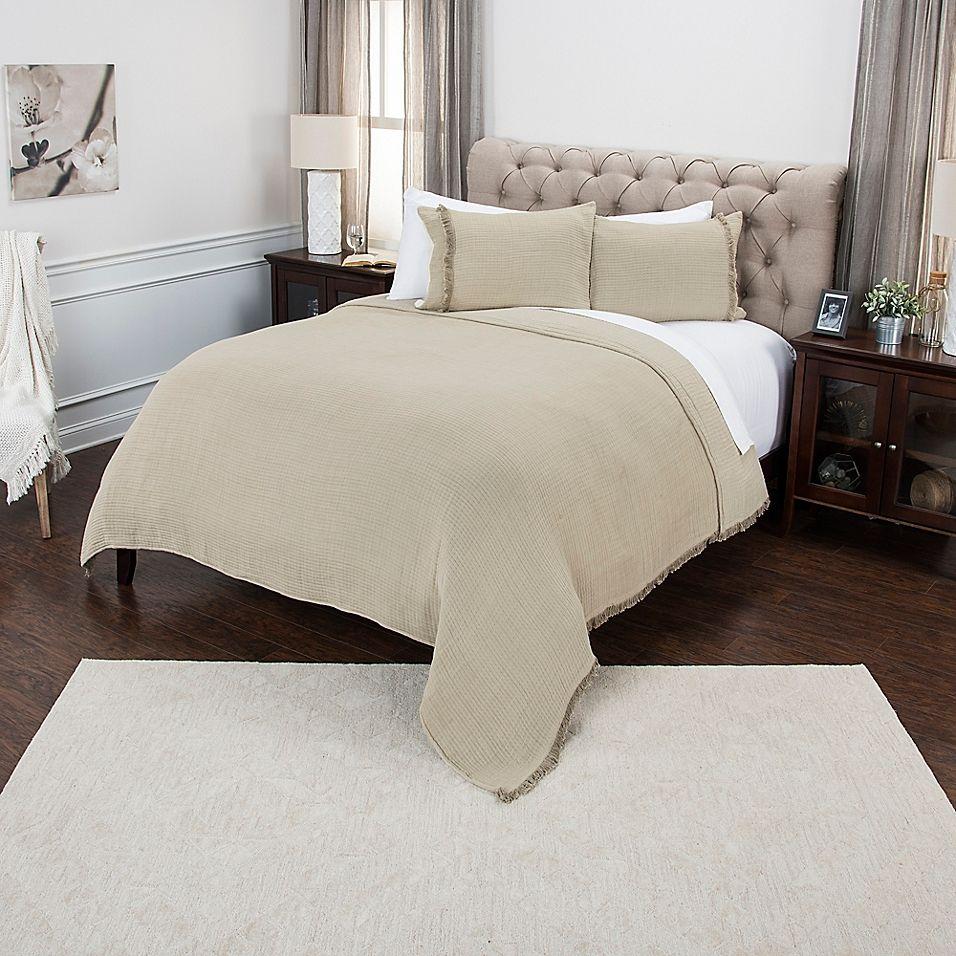 Donny Osmond Windsor King Quilt In Natural Home Decor