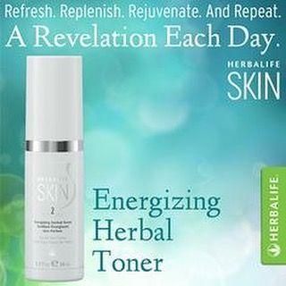 Herbalife Skin Energizing Herbal Toner Herbal Toners