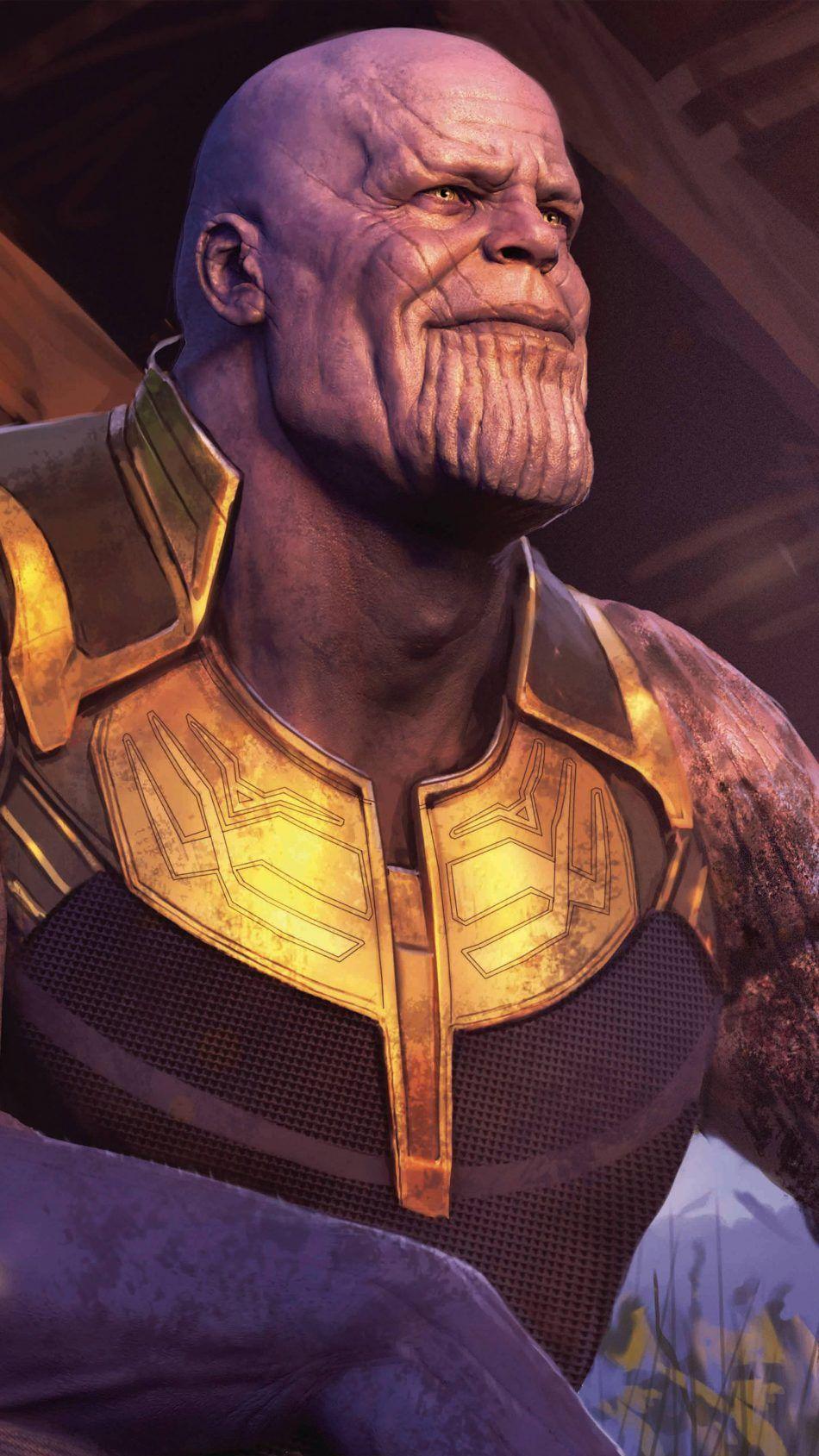 Thanos In Avengers Endgame Mobile Wallpaper Avengers Uhd Wallpaper