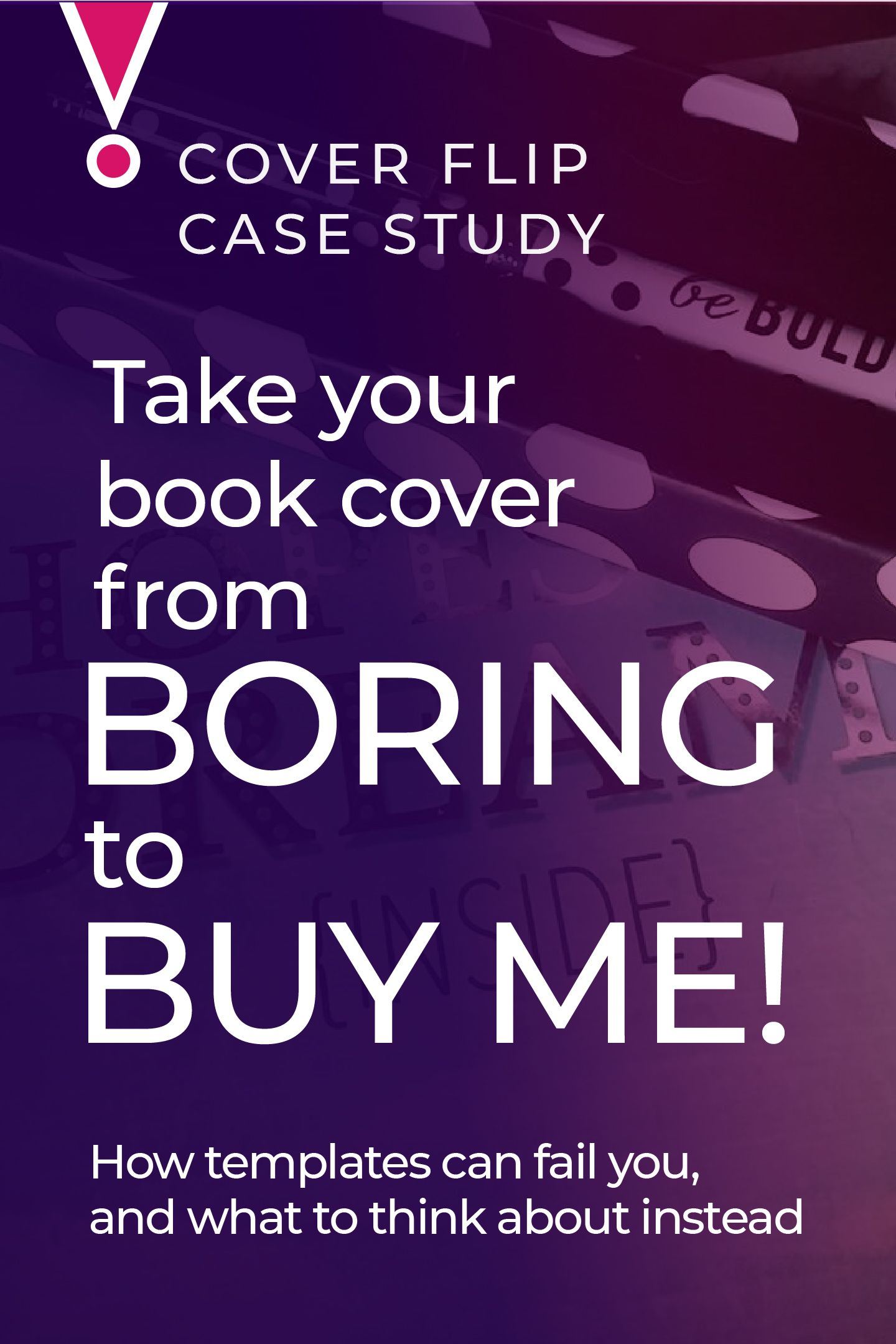 Cover Flip a book cover makeover, turning a bad DIY