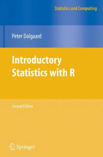 Introductory Statistics With R Statistics And Computing Introductory Statistics With R Statistics Computer Ebook