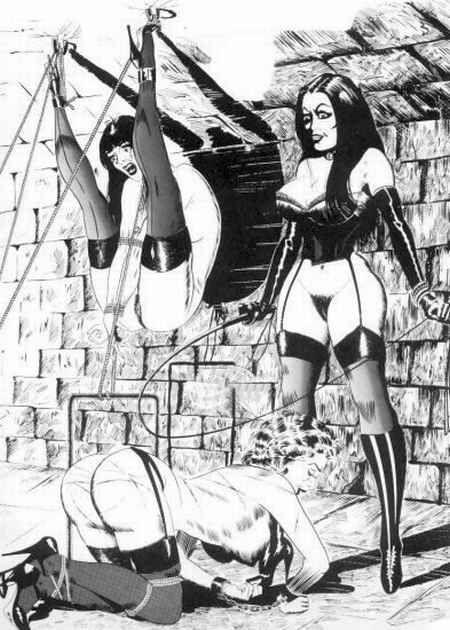 Bdsm comic illustrations