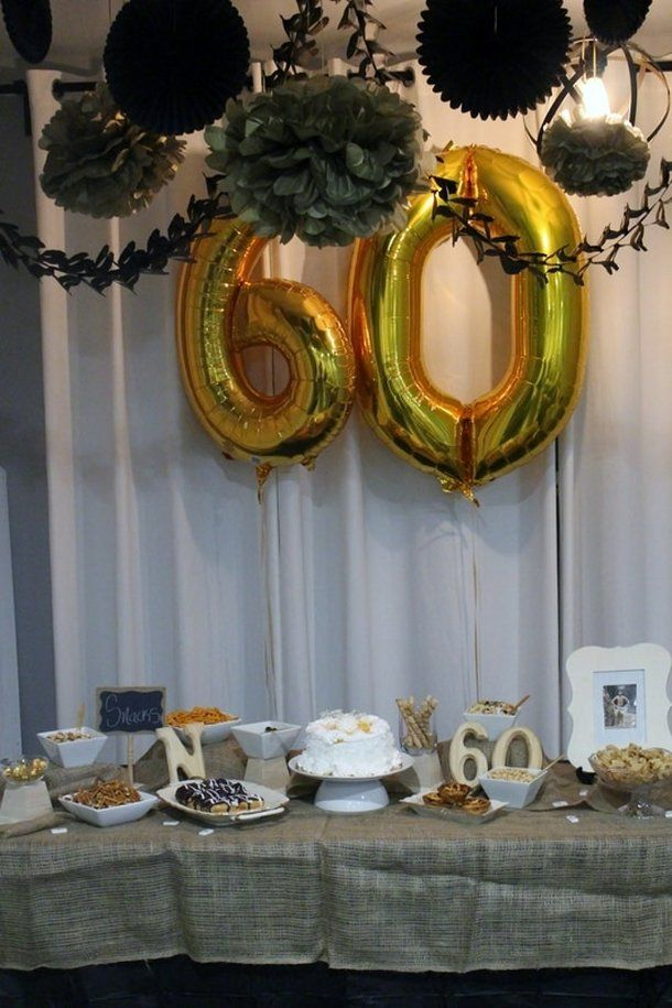 Alicia Gibbs Black And Gold 60th Birthday Party For Dad Chicafashionblog 60th Birthday Ideas For Dad 60th Wedding Anniversary Party 60th Birthday Party