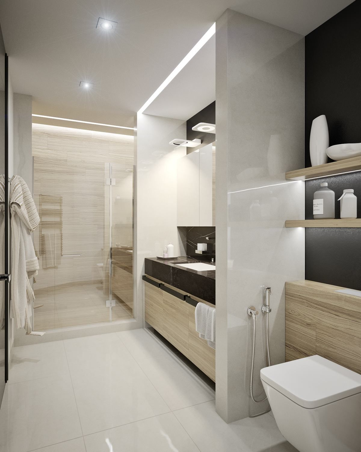 Apartment Bathroom Ideas: 5 Ideas For A One Bedroom Apartment With Study (Includes