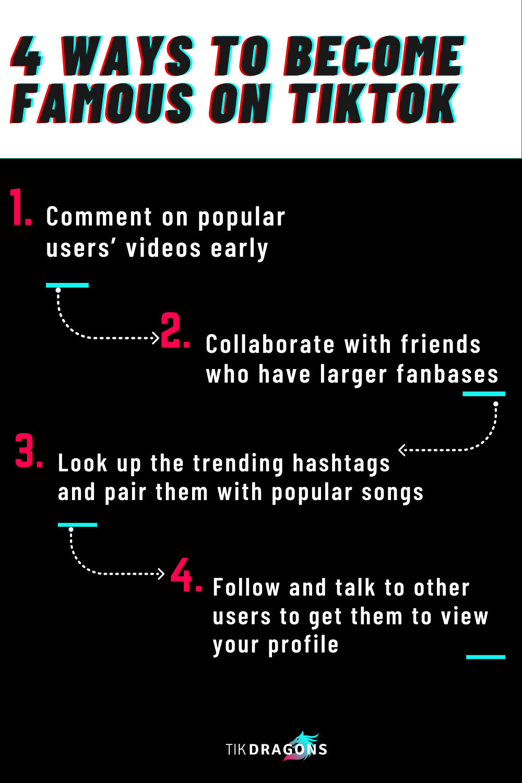 4 Ways To Become Famous On Tiktok